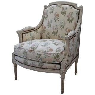 Louis XVI Style Bergere Armchair