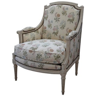 Louis XVI Style Bergere Armchair