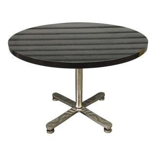 Brueton Custom Stainless Steel & Granite Table