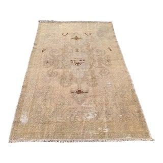 Antique Oushak Rug - 4′8″ × 7′10″