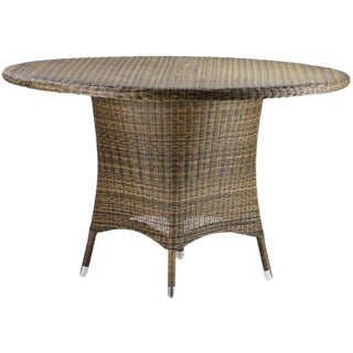 Woven Fiber Outdoor Dining Table