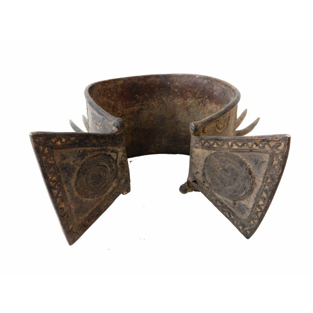 Image of Nigerian Benin Bronze Currency Bracelet