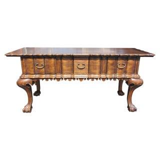 Ebanista Xico Claw Foot Sofa Table