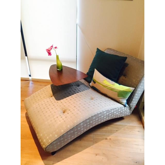 Image of Modern Upholstered Chaise Lounge