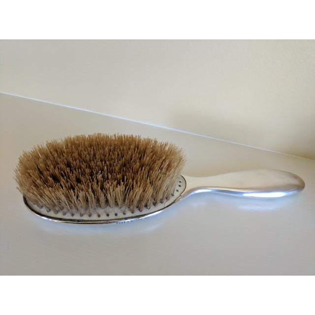 Gorham Sterling Silver Monogrammed Hairbrush - Image 8 of 8