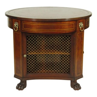 Regency-Style Library Table
