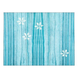 GardenWalls Summer Daisies Collection Wallpaper in Turquoise