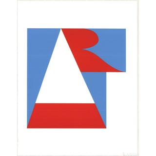 "Robert Indiana ""The American Dream"" 1997 Serigraph"
