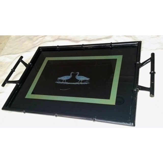 Image of High Gloss Vintage Lacquer Service Tray