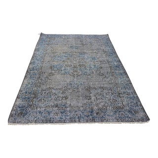 Ori̇ental Turki̇sh Overdyed Rug - 3′10″ × 6′8″