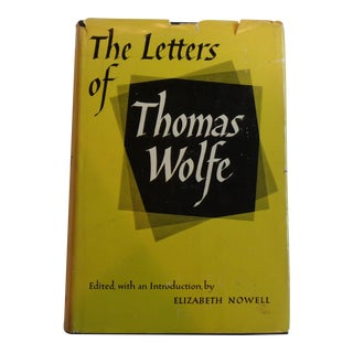 'The Letters of Thomas Wolfe' Vintage Literary Book