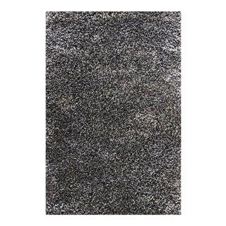 """Dark Gray & Charcoal Shag Rug - 2'8"""" x 5'"""