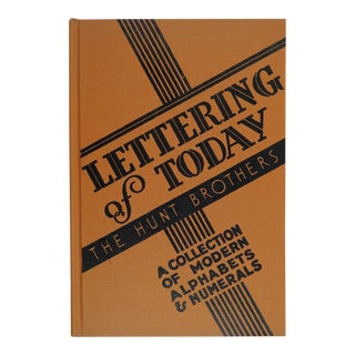 "1947 ""Lettering of Today"" Book"