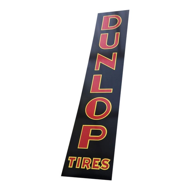 "Vintage Style ""Dunlop Tires"" Sign - Image 1 of 4"