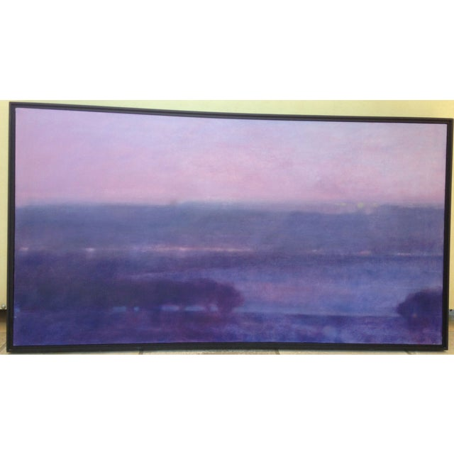 Image of Martha Ceccio Signed Acrylic Painting - After Dusk