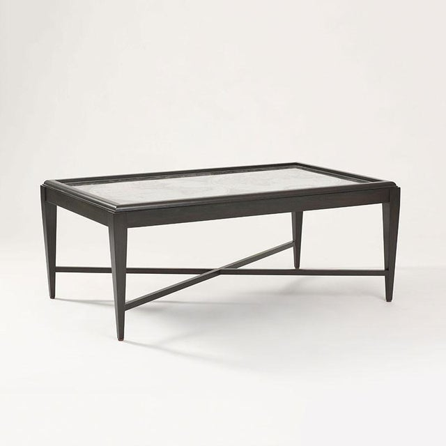 Inset World Map Explorer Coffee Table - Image 3 of 6