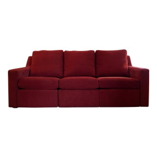 Dual Reclining Pindler Fabric Sofa