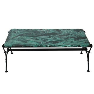 Regency Mala Malachite Coffee Table