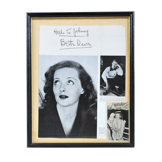 Bette Davis Autographed Photos