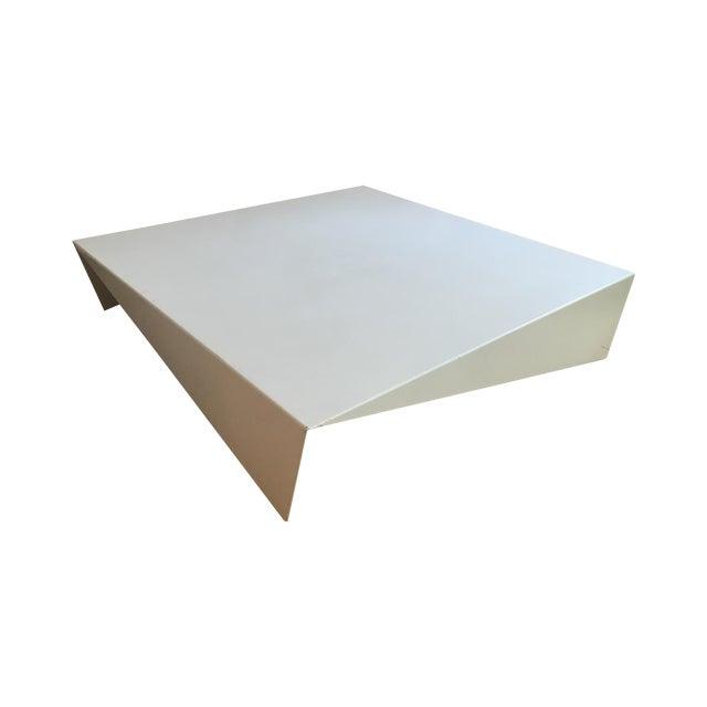 Abc Home White Metal Coffee Table Chairish