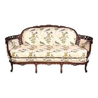 Louis XV Style Canape en Corbeille Settee