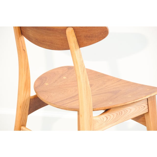 Danish Modern Bentwood Chair - Image 9 of 11