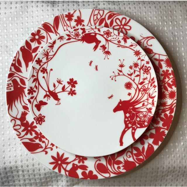 Tord Boontje's Table Stories Dinnerware Pieces - Set of 4 - Image 4 of 10