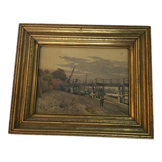 Old Putney Bridge Framed Print