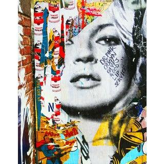 Kate Moss Inspired New York Street Art Photo
