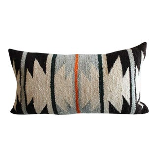 Navajo Geometric Indian Weaving Bolster Pillow