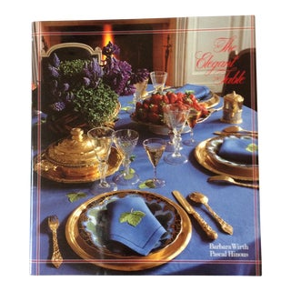 The Elegant Table by Barbara Wirth Book
