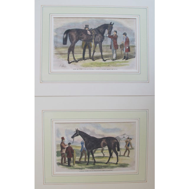 1860s Original British Equestrian Prints - Pair - Image 4 of 4