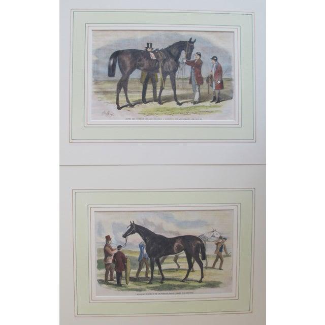 Image of 1860s Original British Equestrian Prints - Pair