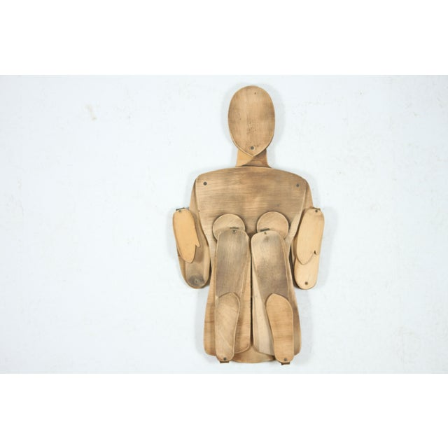 French Wood Mannequin, Female - Image 4 of 5