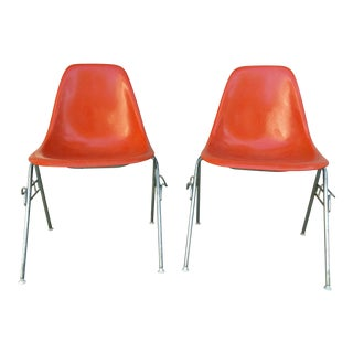 1960s Herman Miller Stacking Chairs - A Pair