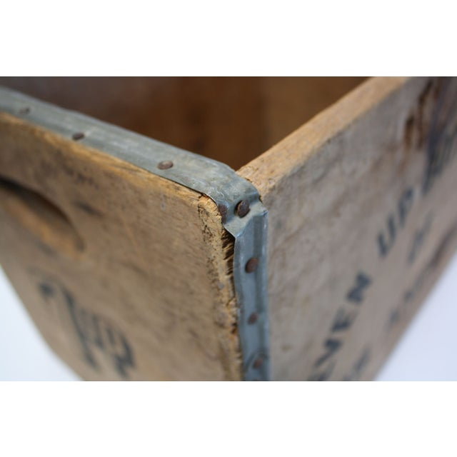 Vintage Wooden 7-Up Crate - Image 6 of 6