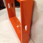 Image of Bungalow 5 Orange Lacquered Mirror Tray