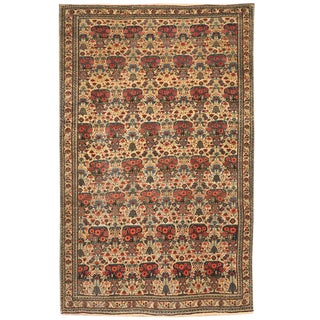 Antique 19th Century Persian Zili Sultan Rug