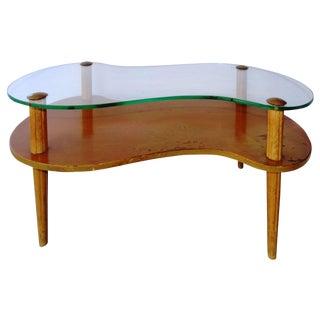1950s Gilbert Rhode Freeform Coffee Table