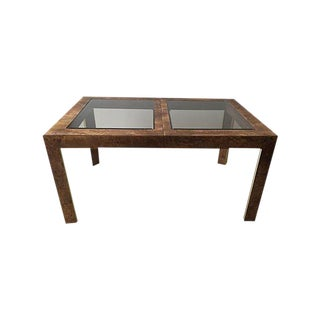 Thomasville Burlwood Dining Table