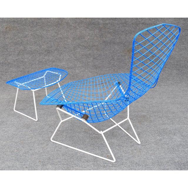 """Mid-Century Modern """"Bird"""" Chair & Ottoman - Image 7 of 10"""