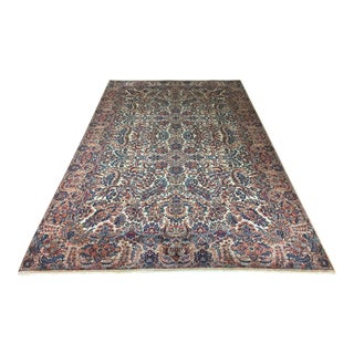 "Karastan Persian Kirman Pattern Wool Rug - 9' 10"" X 16'"