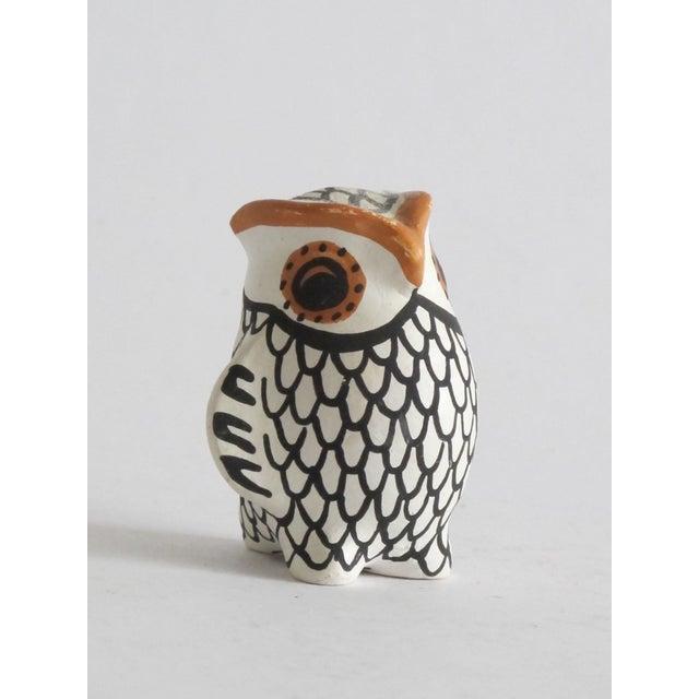 Acoma Ceramic Owl - Image 3 of 4