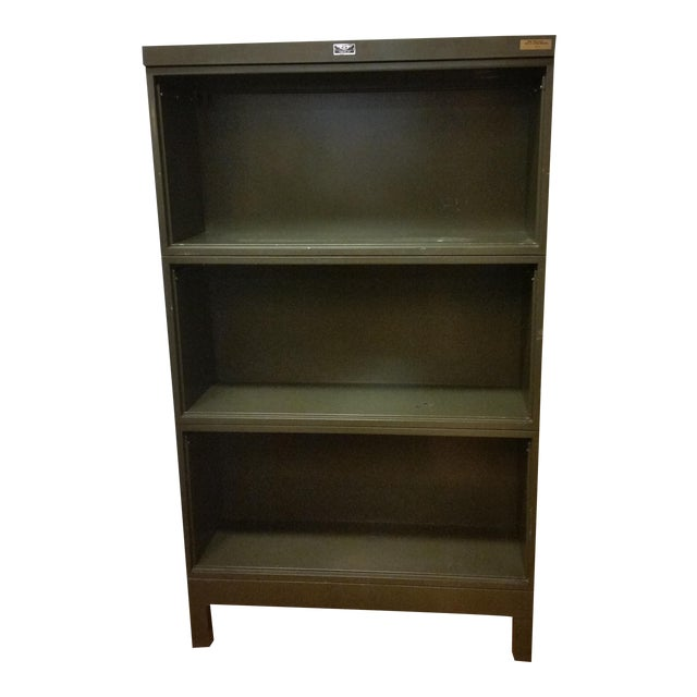 Image of Industrial Open Stacking Bookcase