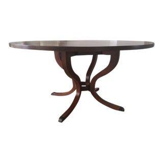 Traditional Solid Wood Round Dining Table
