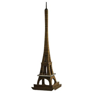 Art Deco Period Grand Scale Eiffel Tower of Rosewood, France c.1930