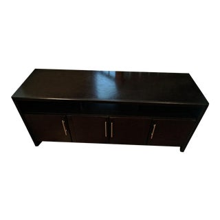 Espresso Brown Entertainment Console