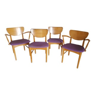Milo Baughman for Drexel Mid-Century Dining Chairs - Set of 4