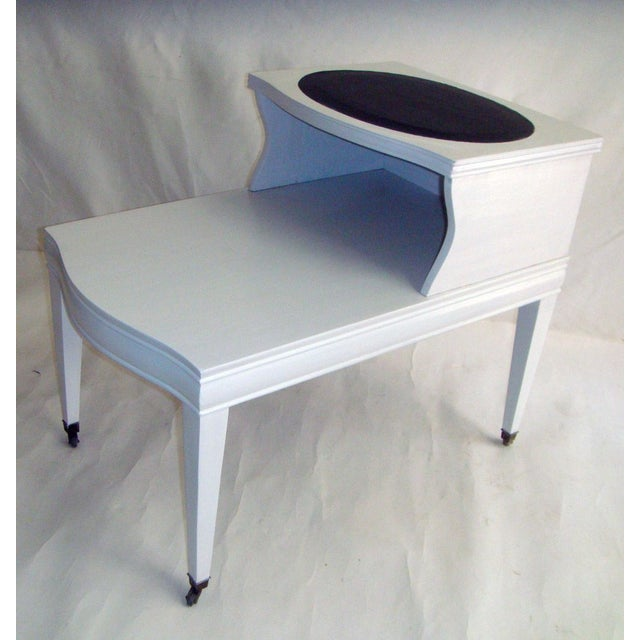 Image of Mid-Century Painted Side Tables - A Pair