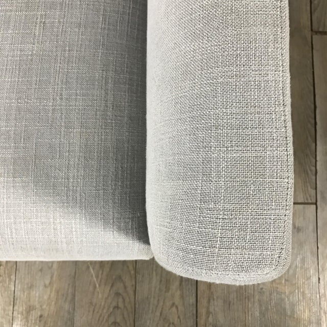 Clean Lined Modern Armchair - Image 6 of 11